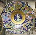 Maestro giorgio di gubbio, piatto con cupido bendato, 1524.JPG