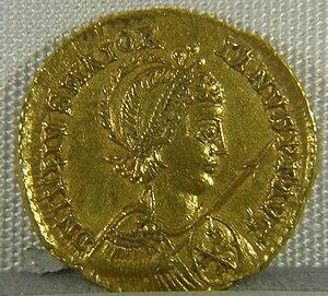 Majorian - Coin of Emperor Majorian