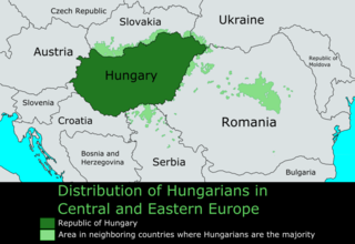 Hungarian diaspora total ethnic Hungarian population located outside of current-day Hungary