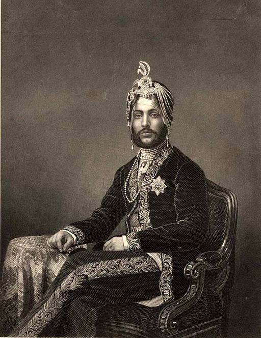 Maharaja Duleep Singh, c 1860s