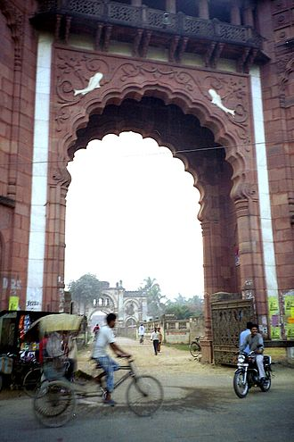 Raj Darbhanga - Main Gate of Darbhanga Fort