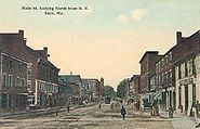 Main St. Looking North From R. R., Saco, ME