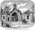 Main entrance - Woodland Cemetery 1878.jpg