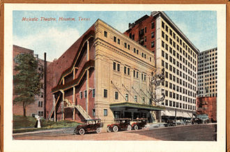 John Eberson - Eberson's first atmospheric theatre, the Majestic in Houston, Texas (now razed)