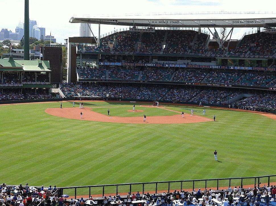 Major League Baseball at Sydney Cricket Ground, 2014