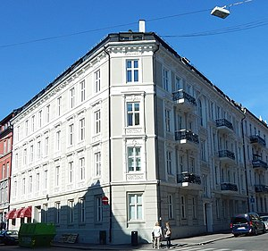Norwegian Association for Women's Rights - NKF's current offices in Majorstuveien 39 in the borough of Frogner in central Oslo