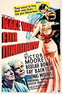 <i>Make Way for Tomorrow</i> 1937 film by Leo McCarey