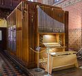 Malchow Orgelmuseum Klosterkirche Sauerorgel des Diakonievereins aus Züssow.jpg