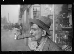 Man with homemade pipe, Washington, D.C.8a03075v.jpg