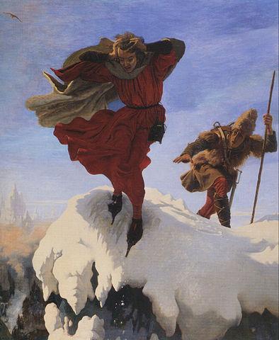 Манфред на Юнгфрау. Ф.М.Браун, 1842