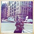 Manhattan Borough President Scott Stringer in front of Franklin Street, Tribeca (5764305893).jpg