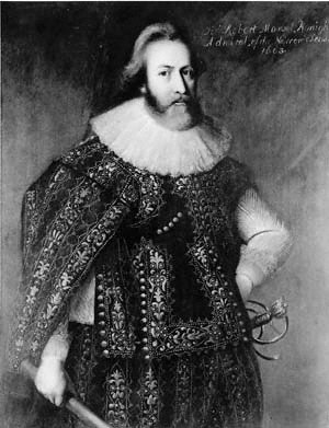 Robert Mansell - Sir Robert Mansell by unknown artist