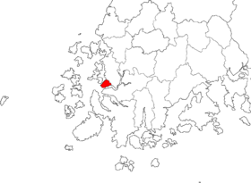 Location of Mokpo