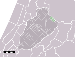 Badhoevedorp in the municipality of Haarlemmermeer