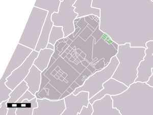 Badhoevedorp - Image: Map NL Haarlemmermeer Badhoevedorp