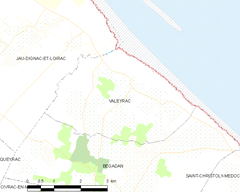 Map commune FR insee code 33538.png