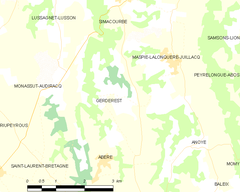 Map commune FR insee code 64239.png