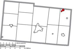 Lewisburg Ohio Map.North Lewisburg Ohio Wikipedia