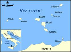 Sicilia E Isole Cartina.Isole Eolie Wikivoyage Guida Turistica Di Viaggio
