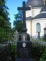 Maria Korowicka grób z ikoną Serafina z Sarowa.JPG