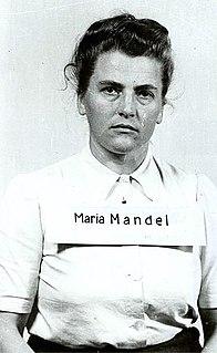 Maria Mandl Austrian Holocaust perpetrator (1912-1948)