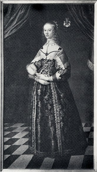 Chief Court Mistress - Maria Sofia De la Gardie