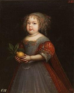 Marie Thérèse de France, Madame Royale by Jean Nocret (Museo del Prado).jpg