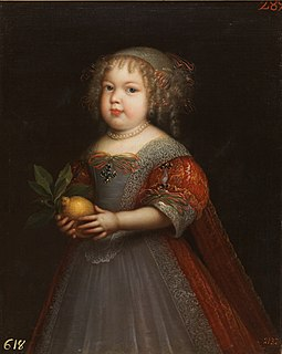 Marie Thérèse of France (1667–1672) Madame Royale