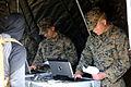 Marines simulate evacuating civilians during Bold Alligator 141102-M-TR086-113.jpg