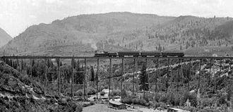 Maroon Creek Bridge - Image: Maroon Creek Bridge 1900