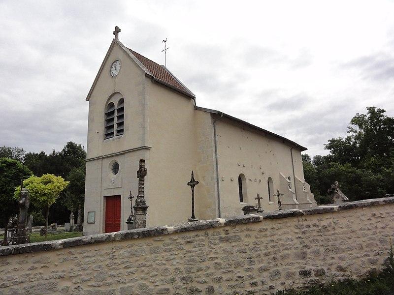 Marson-sur-Barboure (Meuse) église
