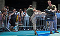 Martial Art Demo during Marine Day Times Square, May 27 - Fleet Week New York 2011.jpg