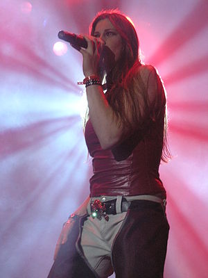 Floor Jansen - Jansen with After Forever at the Masters of Rock festival in 2007