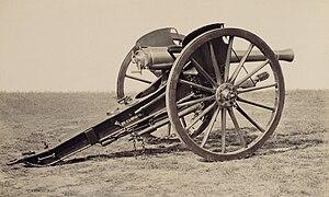 Reffye 75 mm cannon - Image: Matériel de l'artillerie p 26 Canon de 5