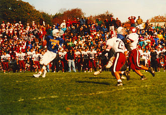 Xaverian Hawks - Matt Hasselbeck '93 during Xaverian vs. Brockton game in 1993