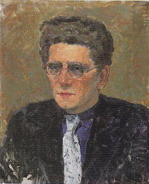 Maurits Dekker - Maurits Dekker (1941)  (Portrait by Meijer Bleekrode)