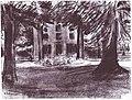 Max Liebermann - Landhaus in Hilversum (Drawing 1900).jpg