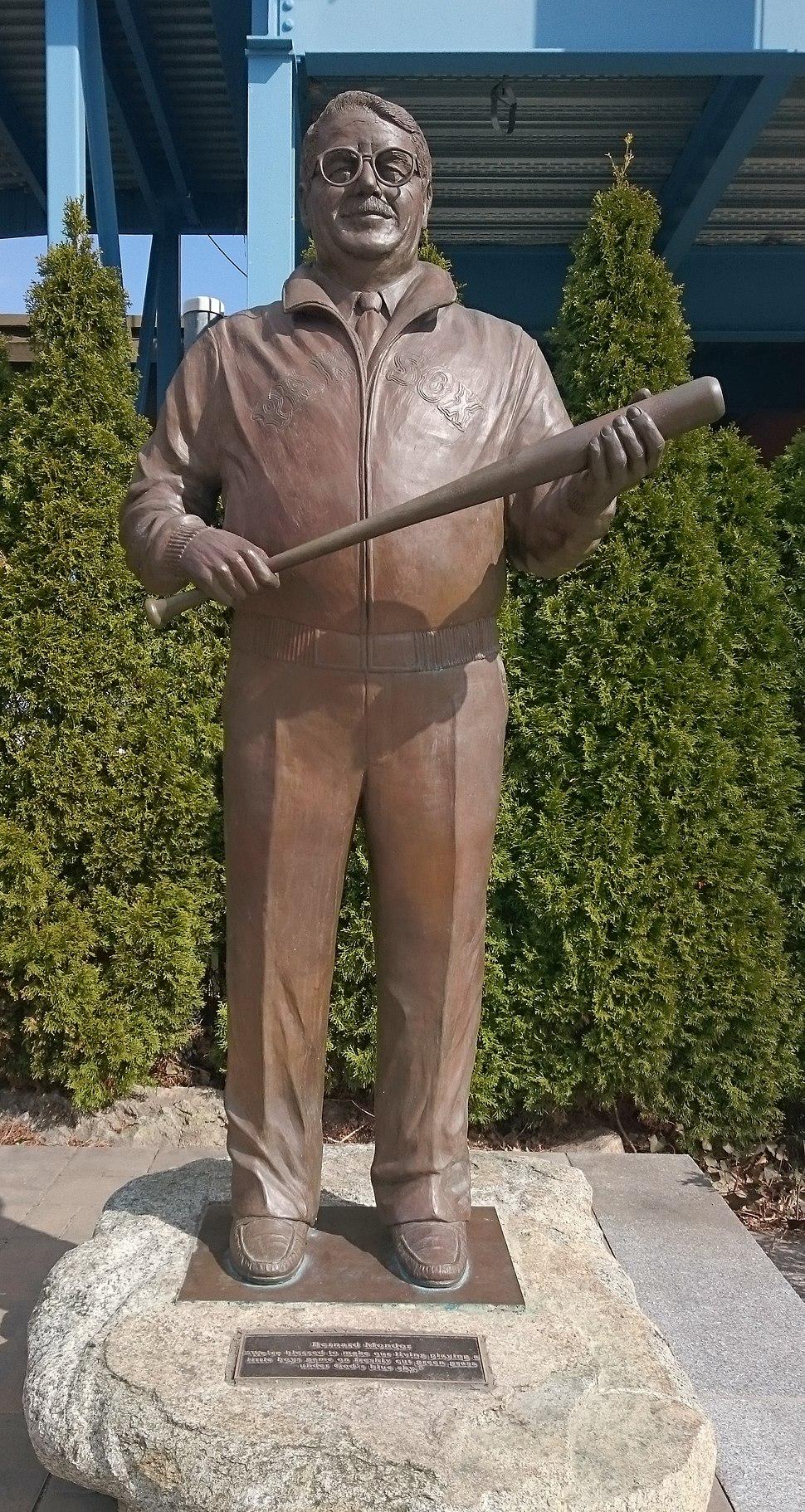 McCoy Stadium - Ben Mondor statue
