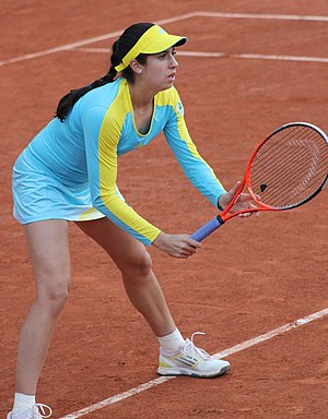 Christina McHale - McHale at the 2013 French Open