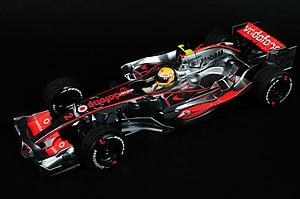 Minichamps - Minichamps 1:18 scale McLaren Mercedes MP4-22 Vodafone Formula One race car.