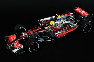 Minichamps - Minichamps 1:18 scale McLaren Mercedes MP4-22 Vodafone Formula One race car.