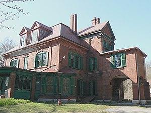 Shepherd Brooks Estate - The manor house on the estate