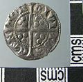 Medieval Coin , Penny of Edward I (reverse) (FindID 640339).jpg