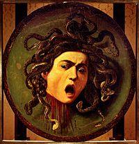 Medusa-Caravaggio (Uffizi)