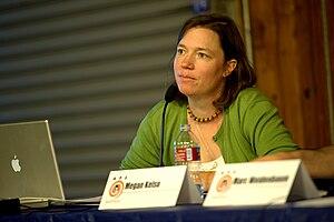 Megan Kelso - Image: Megan Kelso at AP Expo 2010 7442
