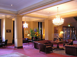 Hotel Windsor (Melbourne) - Melbourne Windsor Hotel Lobby after the restoration in 2008