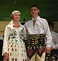 Members of the 'Wiyrchowianie' folklore group in Podhale costume.jpg