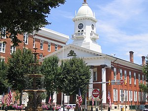 Franklin County, Pennsylvania - Chambersburg is the county seat and largest municipality in Franklin County.