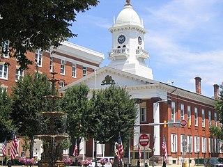Chambersburg, Pennsylvania Borough in Pennsylvania, United States