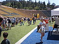 Memorial Stadium during 2009 Cal Fan Apprecation Day 2.JPG